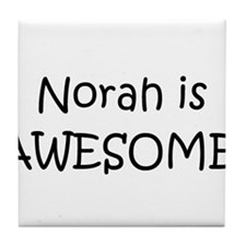 Cool Norah Tile Coaster