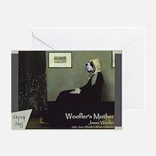 St. Bernard WHISTLER'S MOTHER Greeting Cards (Pk o