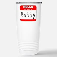 Hello my name is Betty Travel Mug