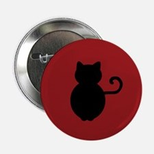 "Cat Signal Silhouette 2.25"" Button"