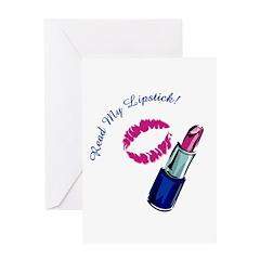 Read My Lipstick! Greeting Card