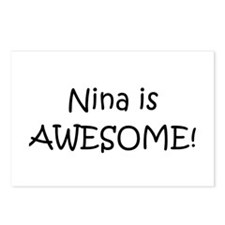 Unique Nina Postcards (Package of 8)