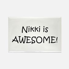 Cute Nikki Rectangle Magnet