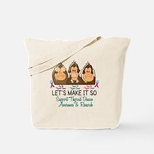 See Speak Hear No Thyroid Disease 2 Tote Bag