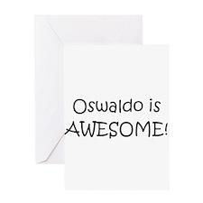 Unique I love oswaldo Greeting Card