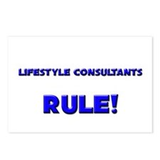 Lifestyle Consultants Rule! Postcards (Package of