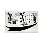 Born Naughty Rectangle Magnet (100 pack)