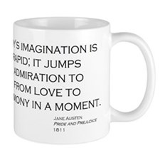 Jane Austin Quote Mug