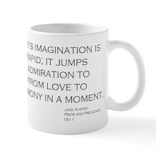 Jane Austin Quote Small Mug