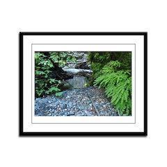 Leggett Creek Canyon Framed Panel Print