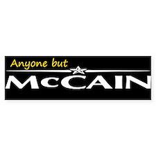 Anyone But McCain Bumper Bumper Sticker