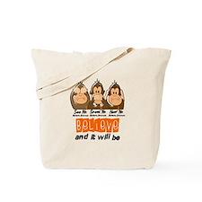 See Speak Hear No MS 3 Tote Bag