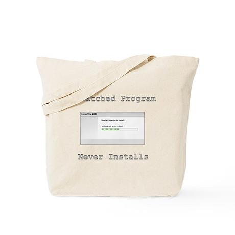 Program Installation Tote Bag