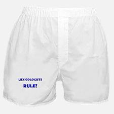 Lexicologists Rule! Boxer Shorts