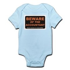 Beware / Accountant Infant Bodysuit