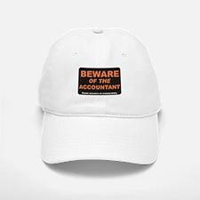 Beware / Accountant Baseball Baseball Cap