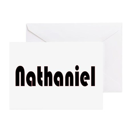 Nathaniel Greeting Cards (Pk of 10)