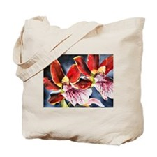 Orchids & Birds of Paradise Tote Bag
