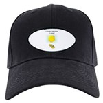 FLIP FLOP FUN Black Cap