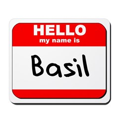 Hello my name is Basil Mousepad