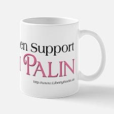 Smart Women support Palin Mug