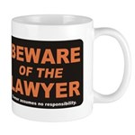 Beware / Lawyer Mug
