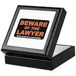 Beware / Lawyer Keepsake Box