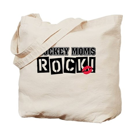 Hockey Moms Rock Tote Bag
