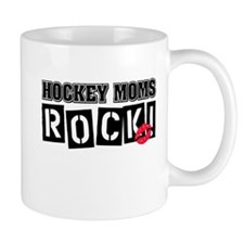 Hockey Moms Rock Mug