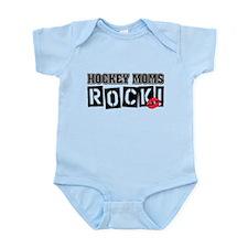 Hockey Moms Rock Infant Bodysuit