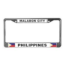 Malabon City License Plate Frame