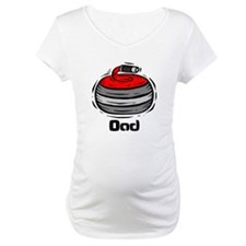 Curling Curler Curl Dad Shirt