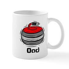 Curling Curler Curl Dad Mug