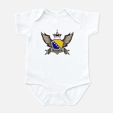 Bosnia Emblem Infant Bodysuit