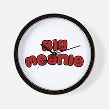 Big Meanie Joke Wall Clock
