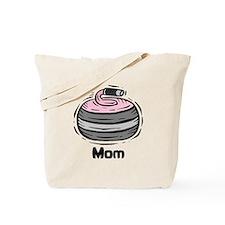 Curling Curler Curl Mom Tote Bag
