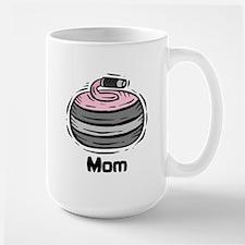 Curling Curler Curl Mom Mug