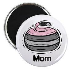 Curling Curler Curl Mom Magnet