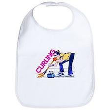 Curling Curler Curl Bib