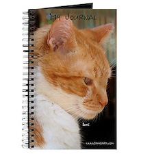 Merwyn: Yellow Tabby Cat Journal