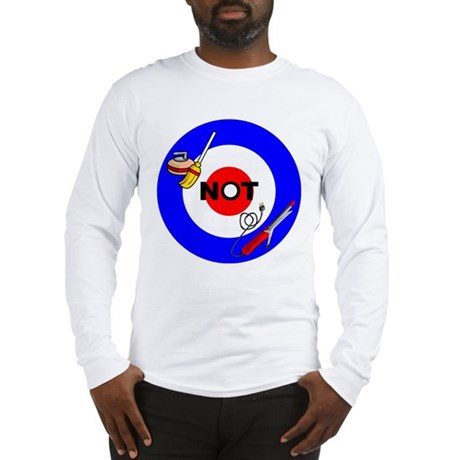 Curling NOT Curling Long Sleeve T-Shirt