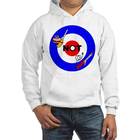Curling NOT Curling Hooded Sweatshirt
