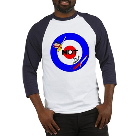 Curling NOT Curling Baseball Jersey