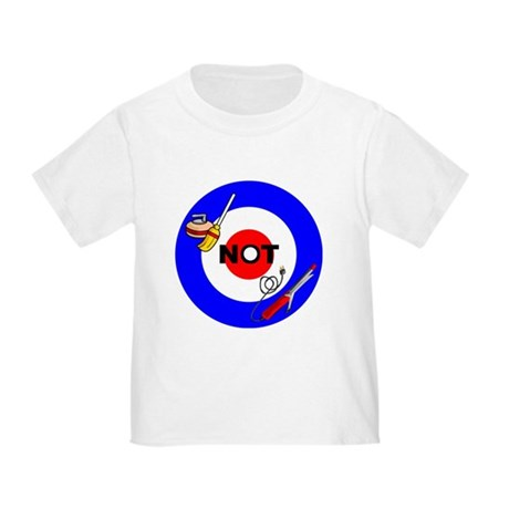 Curling NOT Curling Toddler T-Shirt