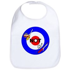 Curling NOT Curling Bib