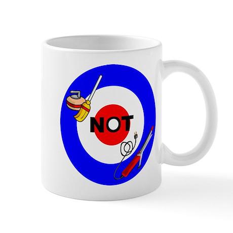 Curling NOT Curling Mug