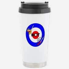 Curling NOT Curling Stainless Steel Travel Mug