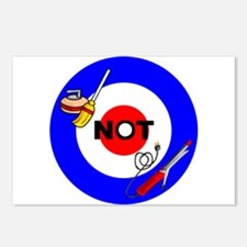 Curling NOT Curling Postcards (Package of 8)