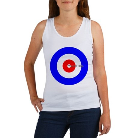 You Are Here Curling House Women's Tank Top
