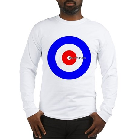 You Are Here Curling House Long Sleeve T-Shirt